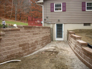 Retaining walls of any size!